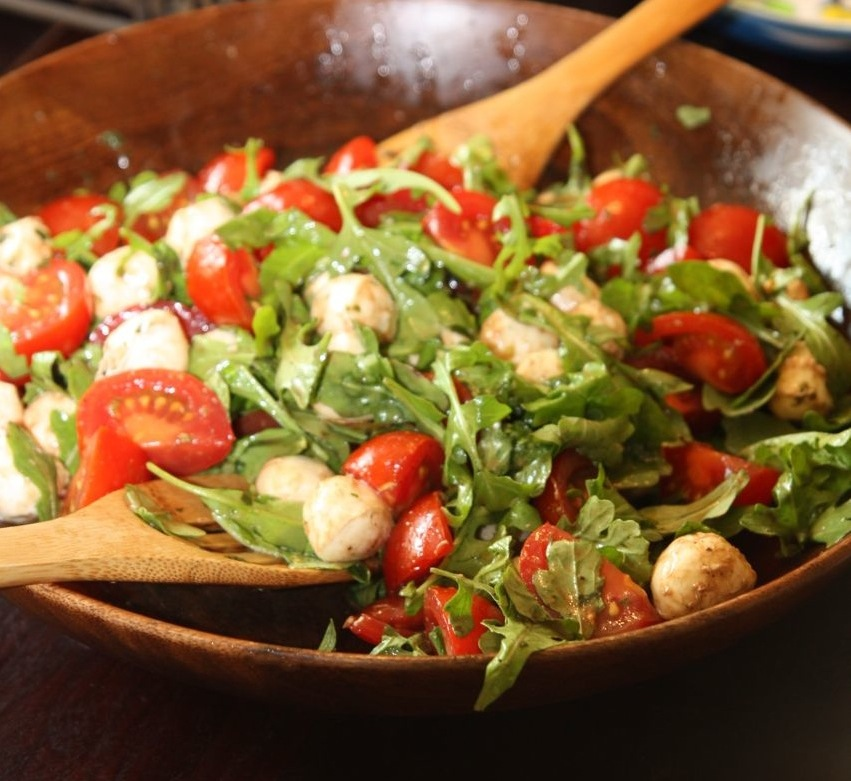 ... caprese pasta salad fork knife swoon caprese salad quick caprese salad