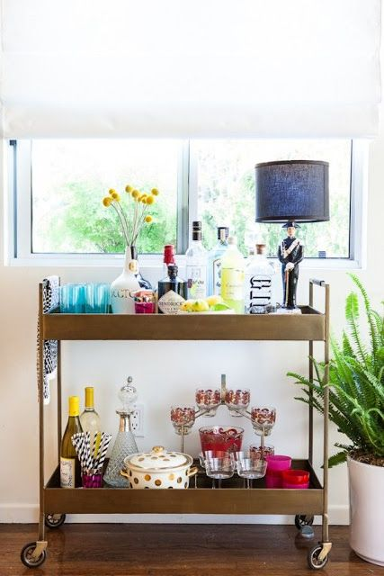 bar cart 2 | home sweet blog