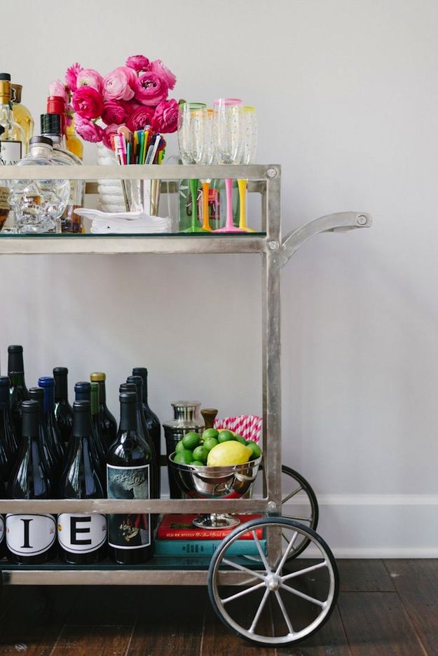 bar cart 3 | home sweet blog