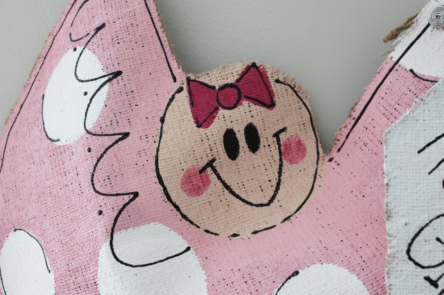 burlap door hanger 5 | home sweet blog