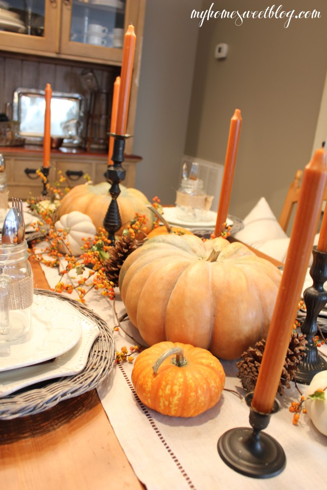 fall centerpiece 9 | home sweet blog