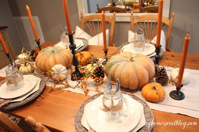 fall centerpiece 8 | home sweet blog