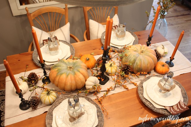 fall centerpiece 5 | home sweet blog