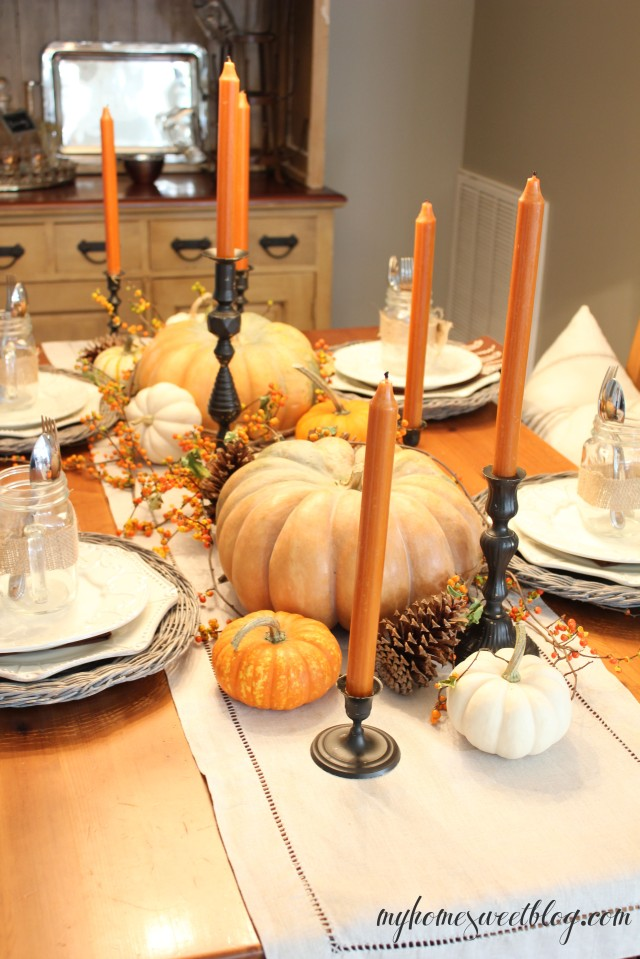 fall centerpiece 4 | home sweet blog