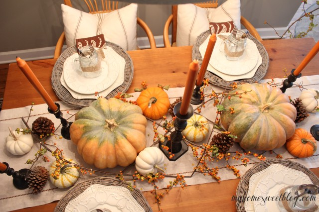fall centerpiece 3 | home sweet blog