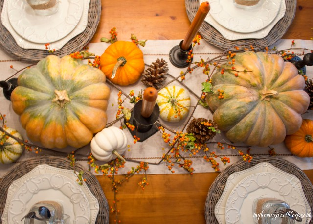 fall centerpiece | home sweet blog