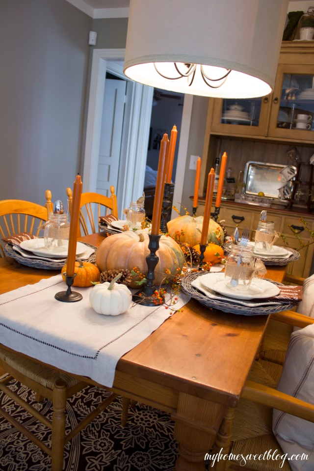 fall centerpiece 10 | home sweet blog