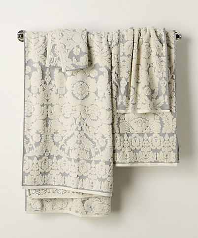 perpetual bloom towels | home sweet blog
