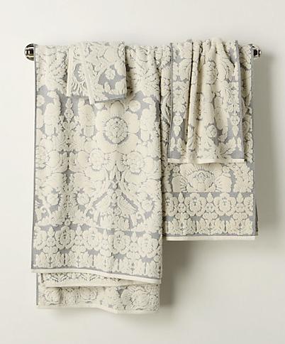 perpetual bloom towels   home sweet blog