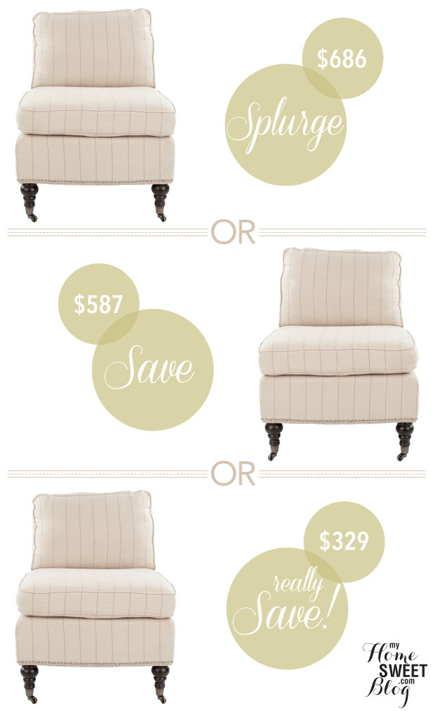 living room chairs | home sweet blog