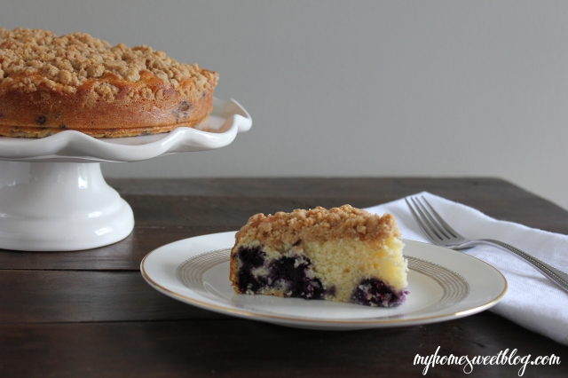 blueberry crumb cake 3 | home sweet blog