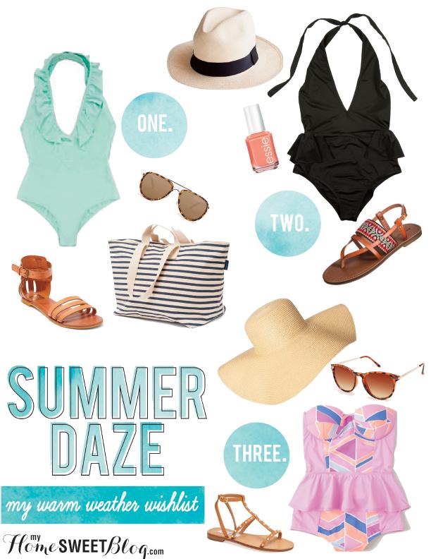 summer daze | home sweet blog
